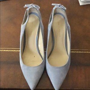 Marc Fisher light blue heels